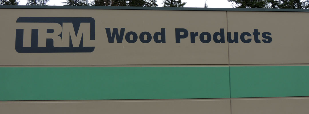 TRM Wood Products sign